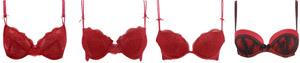 red bras