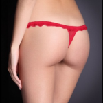 FiFi Red Thongs